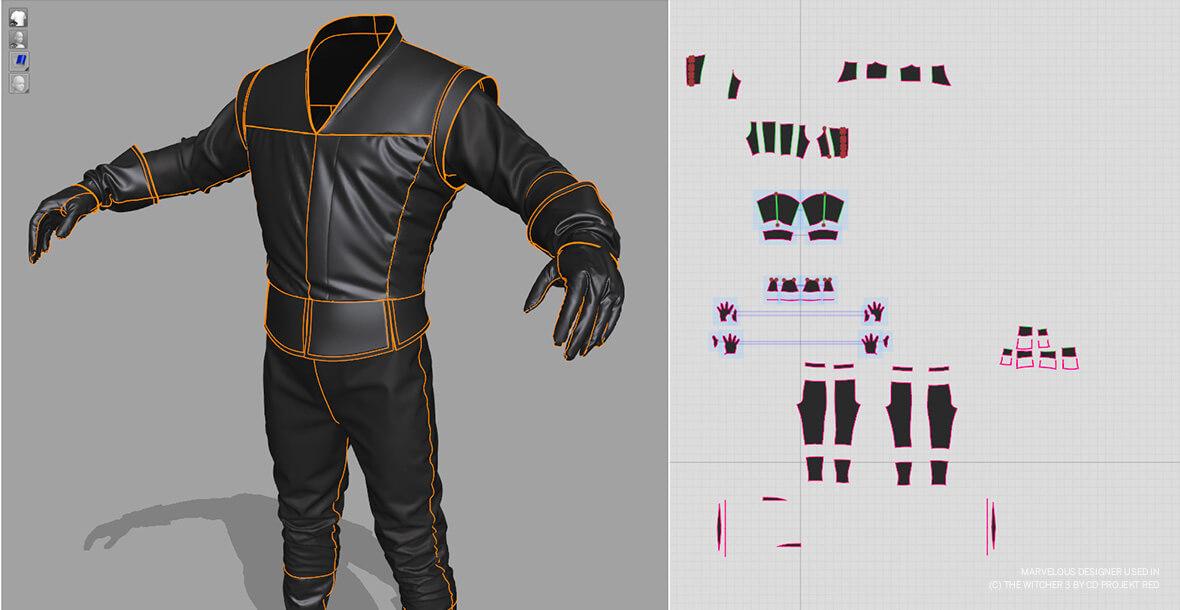 دوره طراحی لباس با رایانه