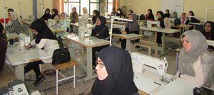 تحویل 5 هزار کاپشن دوخته شده توسط اتباع در مرکز زینبیه اصفهان